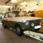 Oldtimer Lada Volkspolizei